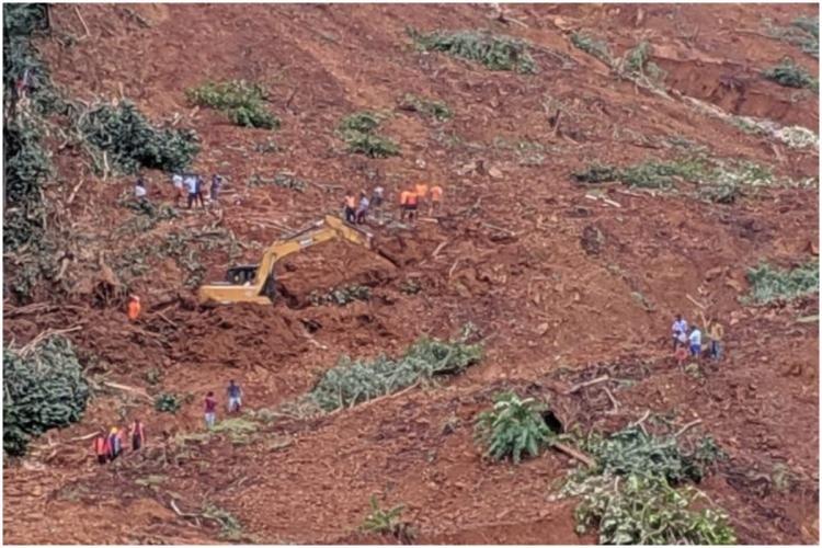 Keralas 2019 landslide flood affected region Kavalappra in Malaopuram district