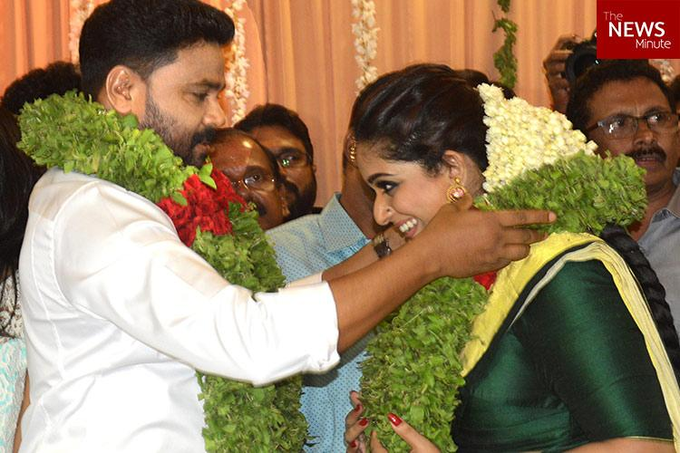 In Pictures The Dileep Kavya Madhavan Wedding That Hened At Last