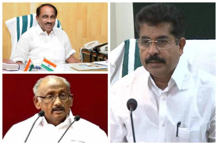 Kerala Ministers K Babu KC Joseph and Adoor Prakash set to contest assembly polls