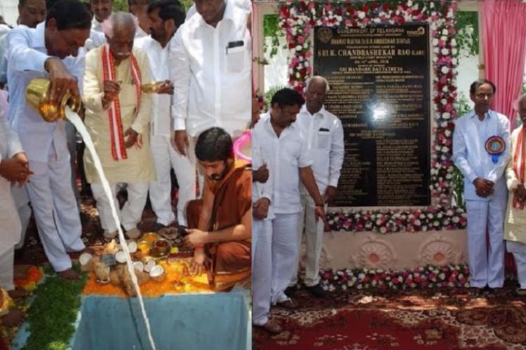 KCRs 125-feet Ambedkar statue is a mockery of the very spirit of Ambedkarism