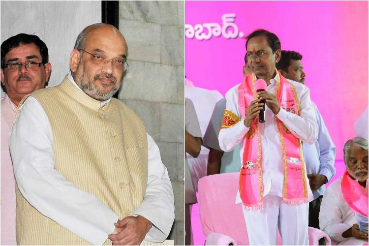 BJPs next mission in the south is Opposition Telangana but can they out-Hindu KCR