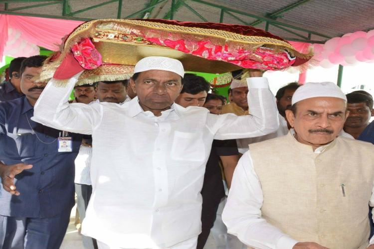 BJP Cong critical of KCRs fight for Muslim quota say no sincerity towards minorities