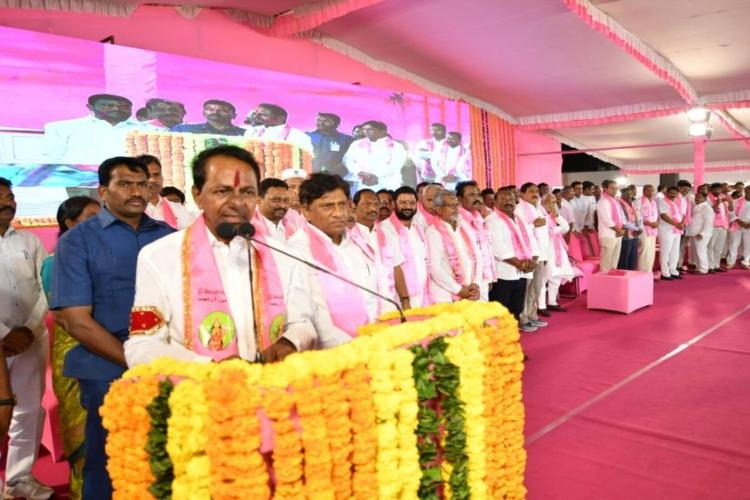 Not job of PM or political parties to decide Ram Janmabhoomi KCR