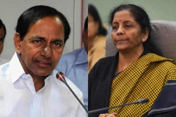 No discrimination against Telangana over funds allocation FM Nirmala responds to KCR