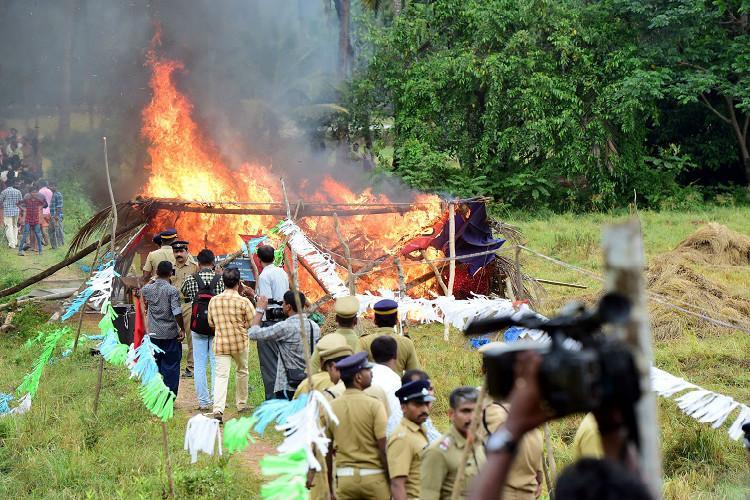 Not every protest is like Nandigram BJP CPIM trade barbs over Keezhattur agitation