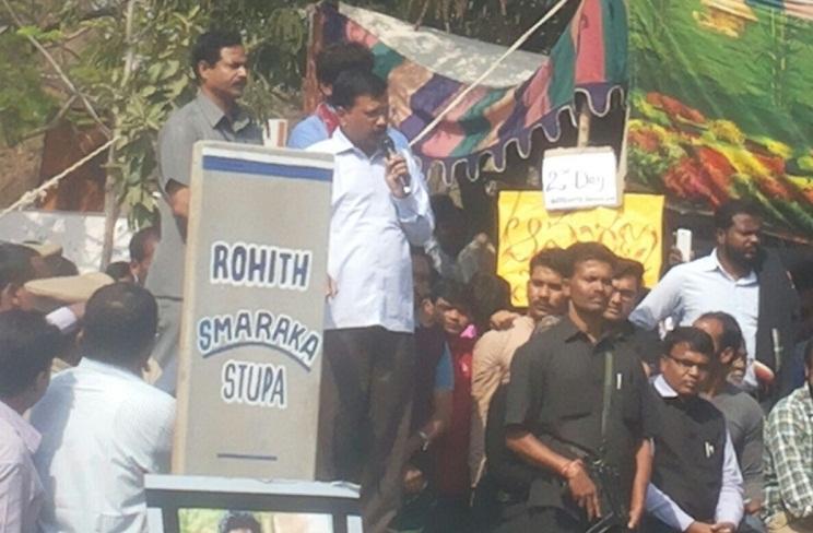 Smriti Irani lied Kejriwal on Rohith Vemulas suicide