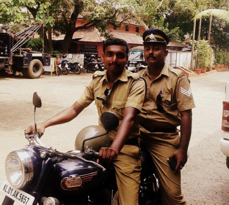 Two policemen a heart patient stuck in traffic and a rescue mission