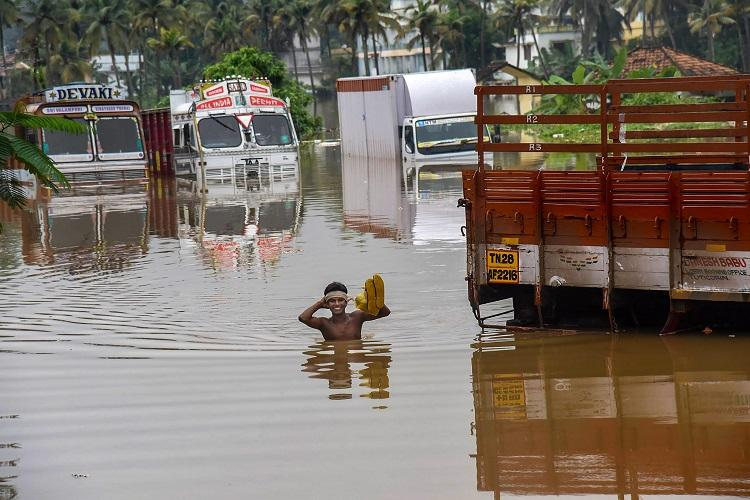 Kerala rains Key highways and routes cut off in several districts