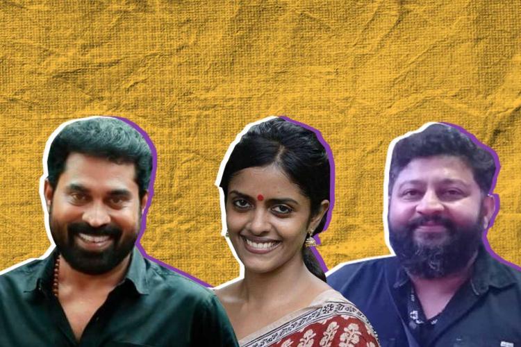 Collage of Suraj Venjaramoodu Kani Kusruthi and Lijo Jose Pellissery winners of Kerala State Awards