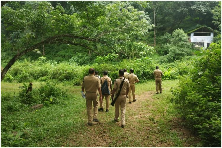 Field Staff of Kerala Forest Department at Work