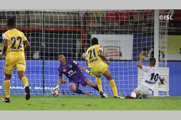 ISL Keralas hopes hanging by a thread after Pune defeat