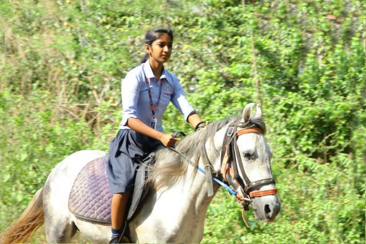 Meet Krishna the Kerala girl who went to her Board exam riding a horse