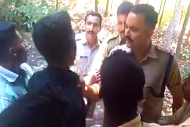 Kerala cop roughs up Dalit activist police say issue resolved after video goes viral