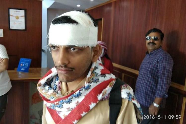 Tourists from Kerala come under attack by stone pelters in Kashmir 7 injured