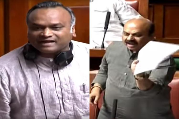 High drama in Karnataka Assembly as BJP minister calls Congress tukde tukde gang