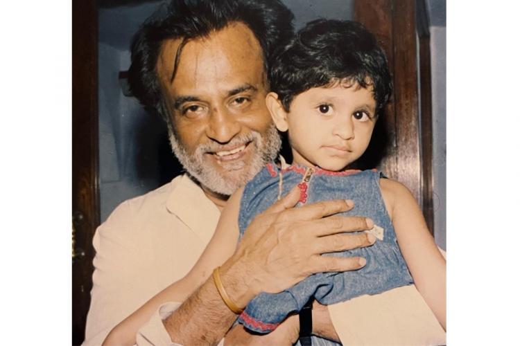 AR Rahman takes trip down memory lane with throwback pic of his daughter with Rajinikanth