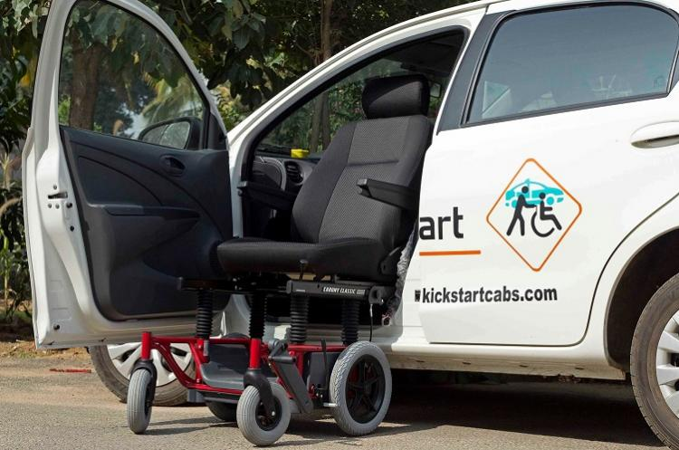 Wheels of independence Finally a disabled-friendly cab service in Bengaluru