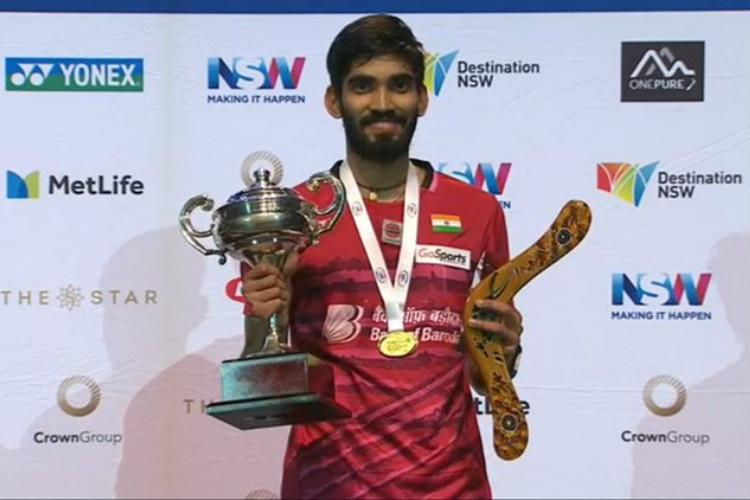 Kidambi Srikanth on a roll wins French Open for his fourth Superseries title of the year