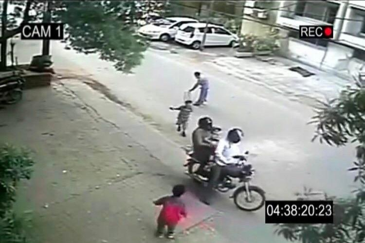 Child kidnapping video spreading panic in Tamil Nadu is actually