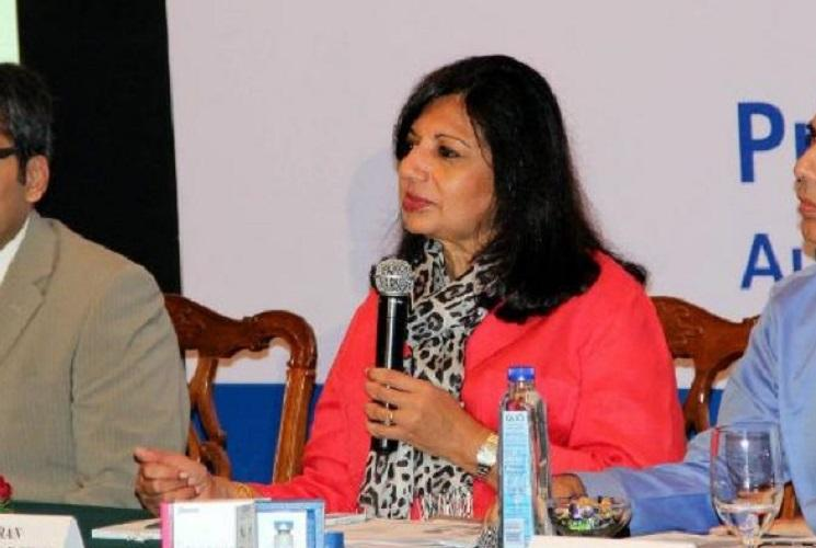 Kiran Mazumdar Shaw says govt official told her not to discuss income tax harassment