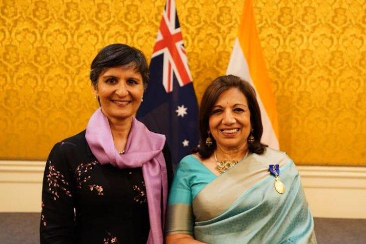 Kiran Mazumdar-Shaw bestowed with Australias highest civilian honour