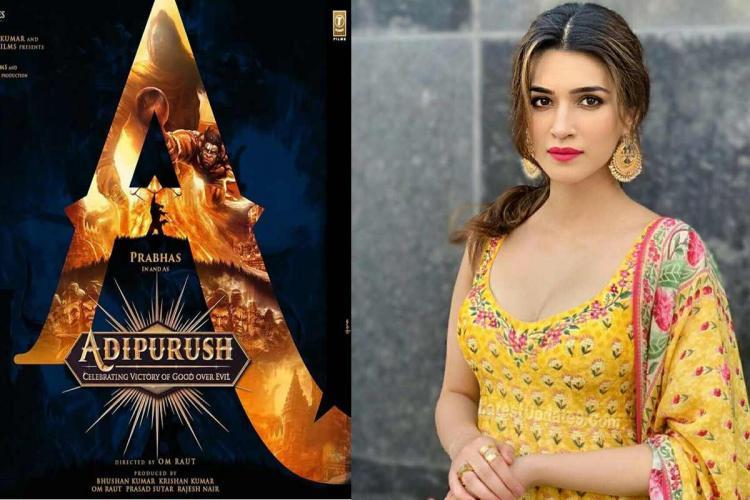 Kriti Sanon to star opposite Prabhas in Adipurush