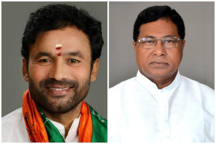 Telangana Assembly ruckus Congress finds unlikely friend in BJP both boycott session