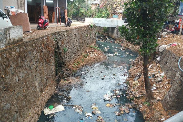 Kochis stinking canals have made walking along its banks a nightmare for locals