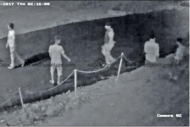 Kerala gang robbery Arrested trio taken to the crime scene to collect evidence