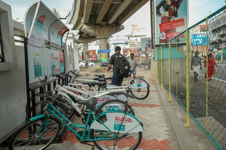 Going the green way Kochi Metro launches cycle sharing system
