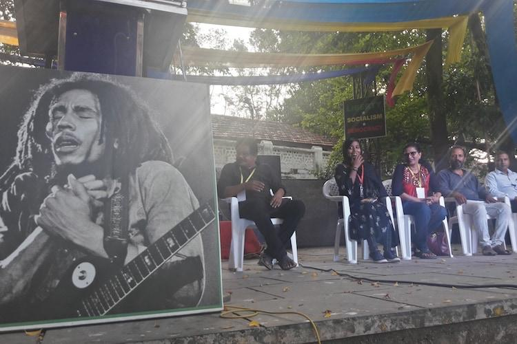 Questioning UAPA and CAA Kochi activists commemorate singer Bob Marleys birthday