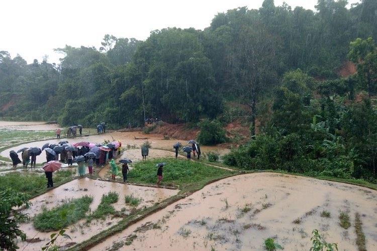 Karnataka floods 4 killed in landslide in Kodagu several roads in district cut off