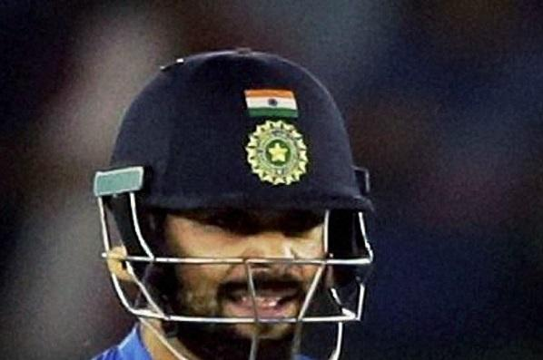 Trouble for Team India Activist files complaint about tricolour on helmets