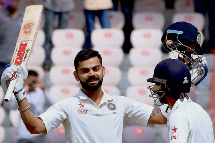 Virat Kohli equals Tendulkar Sehwag in scoring record sixth double century