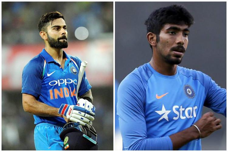 ICC rankings Kohli achieves rare double Bumrah joint top ranked ODI bowler