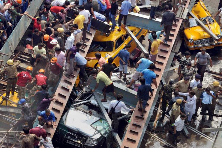 Kolkata tragedy Death toll rises many remain trapped and company says its an act of God