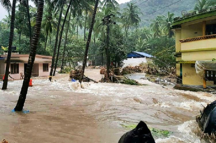 Rains in Kerala caused an approximate material loss of Rs 8,315 crore: CM