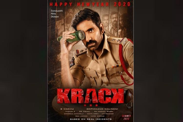 First look poster of Ravi Tejas Krack is out