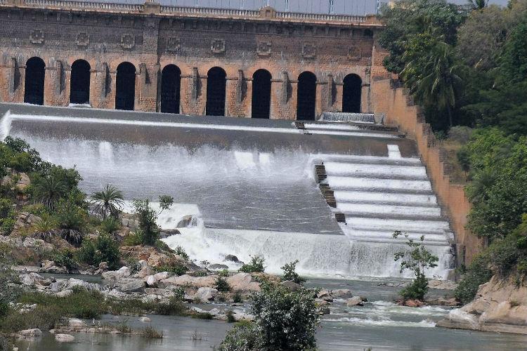 Karnataka rains KRS reservoir sees highest water levels in 4 years at 9450 ft