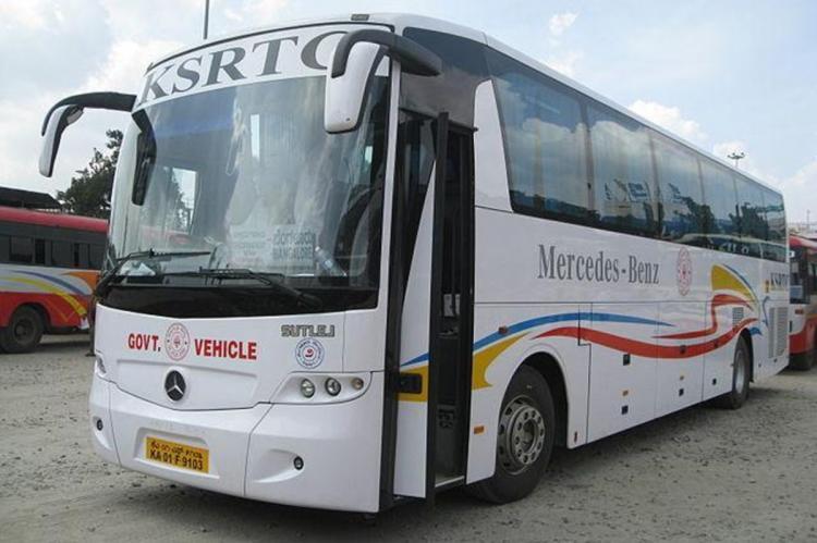 White KSRTCbus