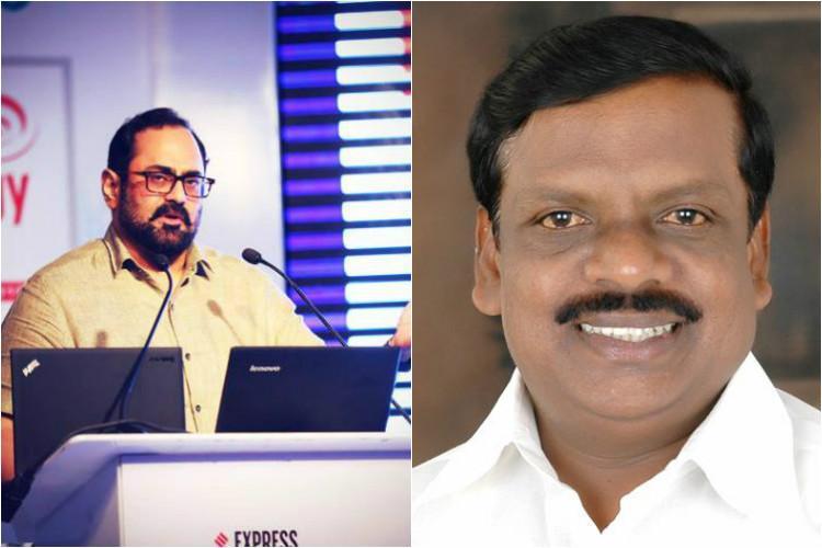 Rajeev Chandrasekhar is BJPs Rajya Sabha candidate Cong goes for three Kannadigas