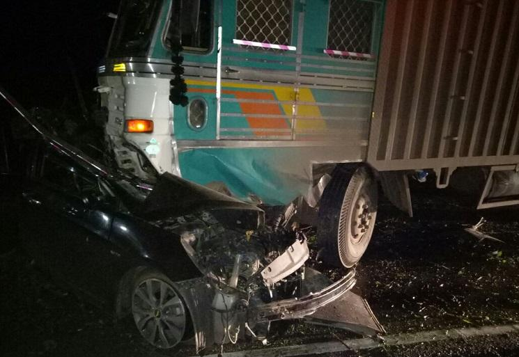 Bengaluru: Speeding truck crushes auto, four students dead