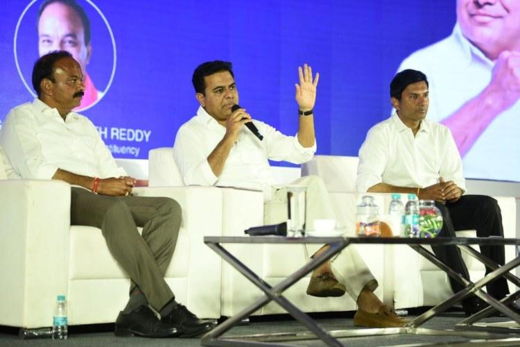 KTR takes a dig at urban voters indifference to elections statistics prove him right