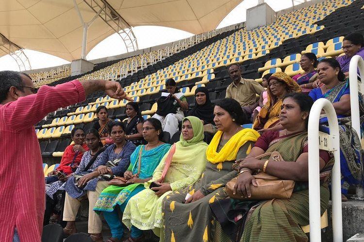 Kudumbashree is official food partner for ODI match in Thiruvananthapuram