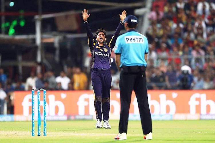 Its home ground for us Hyderabad will find Eden wicket difficult Kuldeep