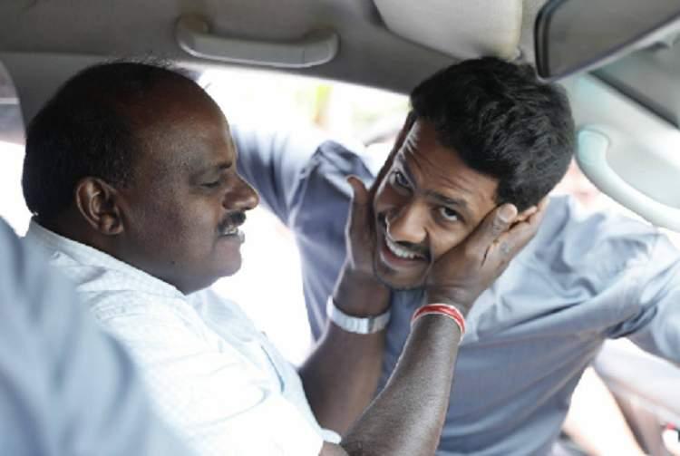 How Seetharama Kalyana tries to project Nikhil as political heir to HD Kumaraswamy