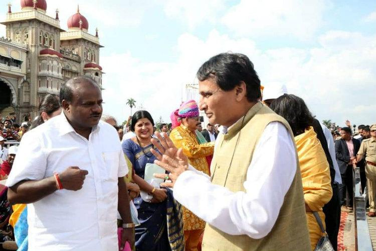 Karnataka to give land for new airport at Mysuru Suresh Prabhu