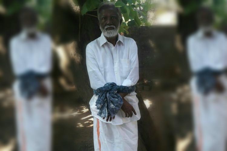 BJPs Kummanam Rajasekharans photo with hands tied up like Madhu draws flak