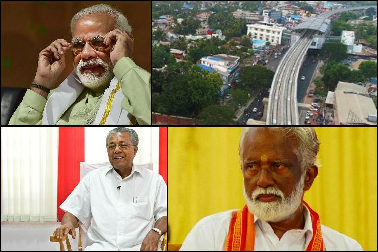BJP accuses LDF govt of deliberately keeping PM Modi out of Kochi Metro inauguration