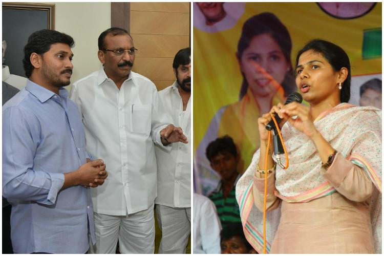 Uncomfortable with a young womans rise in the party senior TDP leader switches to YSRCP